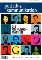 Klaus-Peter Schöppner: (r.u.): Auf ihn hören die Wähler